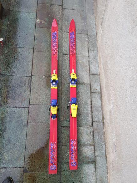 Детски ски K2 G-Force с автомати - 158см