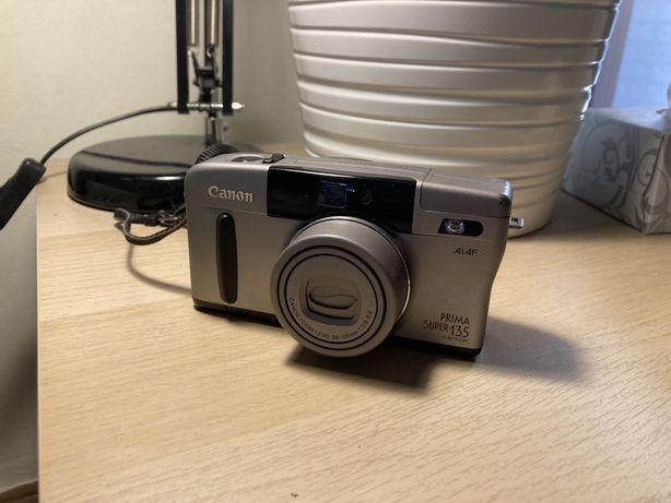Aparat pe film 35mm Canon prima super 135
