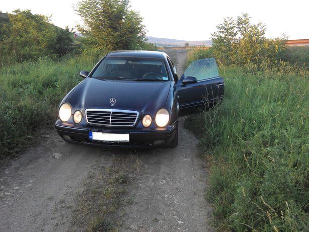 Bara fata Spoiler cu proiectoare Mercedes CLK W208 clk 200 230