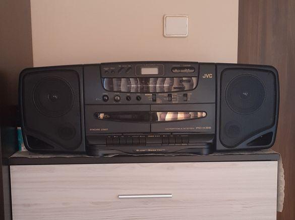 JVC CD радиокасетофон portable system PC-X95
