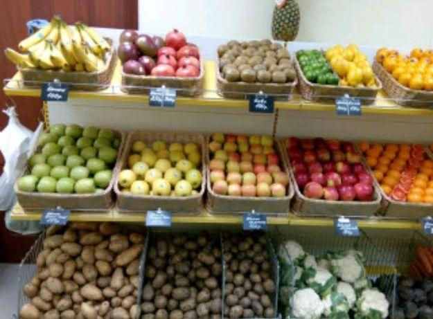 Овощной отдел на 7 поликлиники