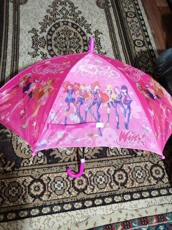 Детские   зонты  для мальчика и девочки