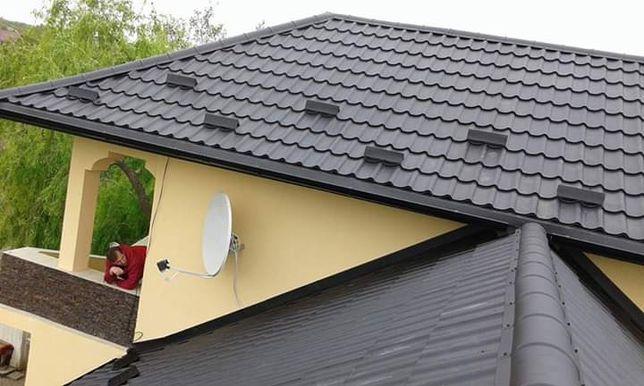 Montaj acoperișuri reparatii mansardă tigla metalica bilka
