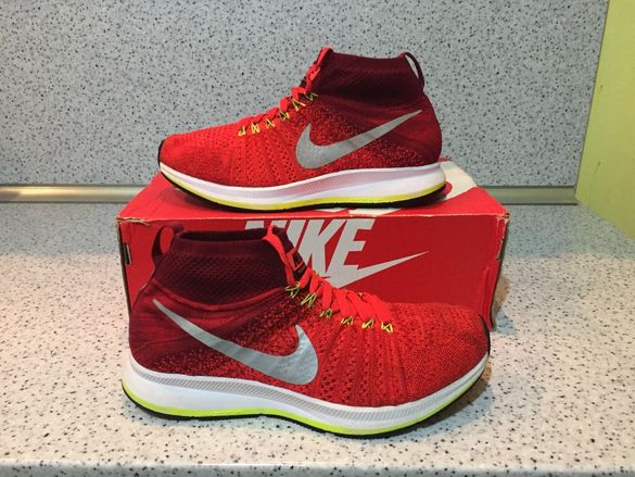 ОРИГИНАЛНИ *** Nike Zoom Pegasus All Out Flyknit Red Volt