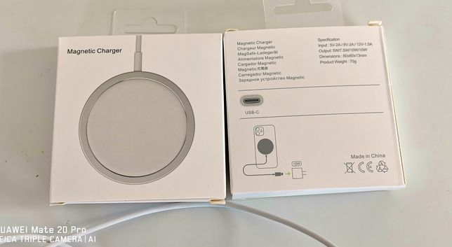 Incarcator wireless Magsafe Magnetic Iphone 11/12, 15w ios, android