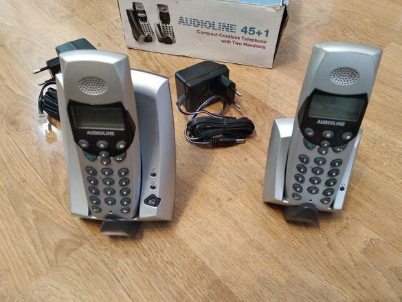 Безжични Телефони / Офис / AUDIOLINE 45+1