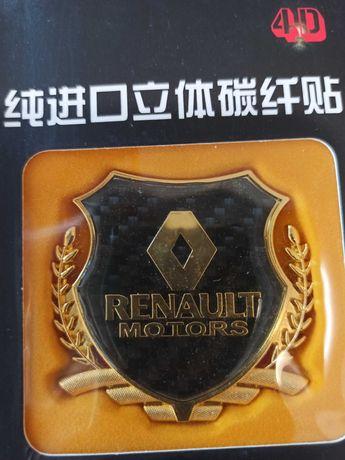 Embleme premium Renault. Doar predare personala.