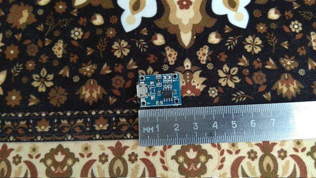 Модуль TP4056 Micro USB заряда Li ion аккумулятор 18650