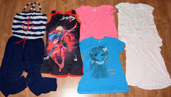 Лот от блузки НМ, рокля  и гащеризон НМ  р.134/140- 6 броя за 15 лв.