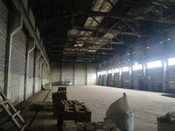 Сдам в аренду помещение склада 1600 кв.м.