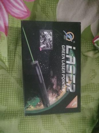 Лазер зеленый большая дальность