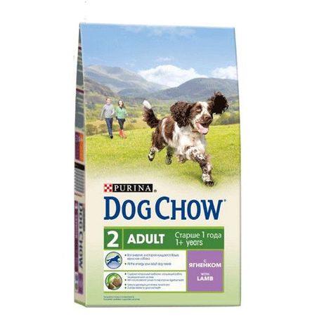 Корм для собак Дог Чау с ягненком 14кг