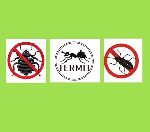 Дезинфекция тараканов клопов термитов