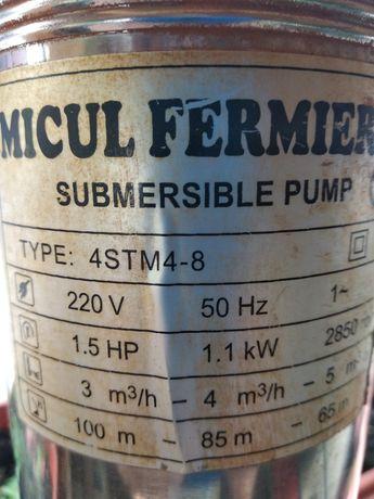 Pompă submersibila și prescontrol