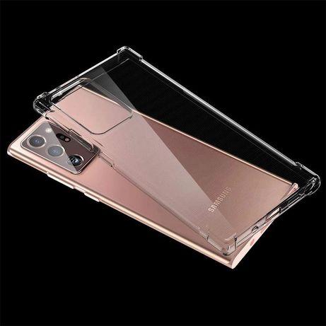 Прозрачен Силиконов Удароустойчив Кейс за Samsung Galaxy Note 20 Ultra