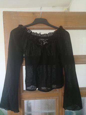 Bluza neagra vascoza sexy Tina R