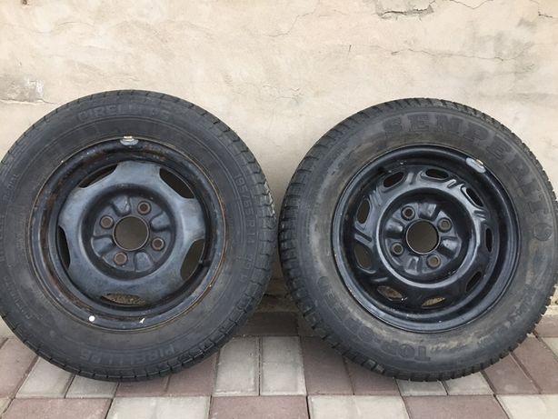 Продам авто шину с диком размер 195/65R14