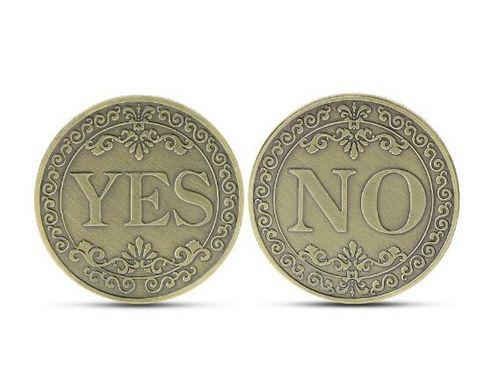 Късметлийска монета Да или Не , Yes or No
