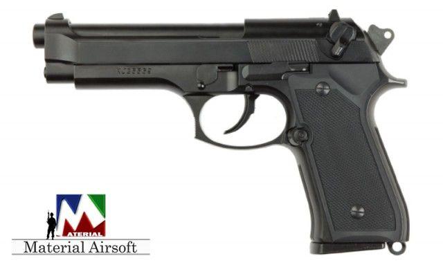PISTOL-GAZ-Aer Comprimat-Co2-Airsoft FOARTE PUTERNIC Beretta M9 6.04mm