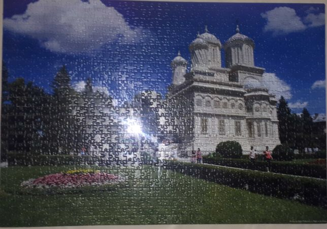 Tablou Puzzle Locuri din România - Manastirea Curtea de Arges