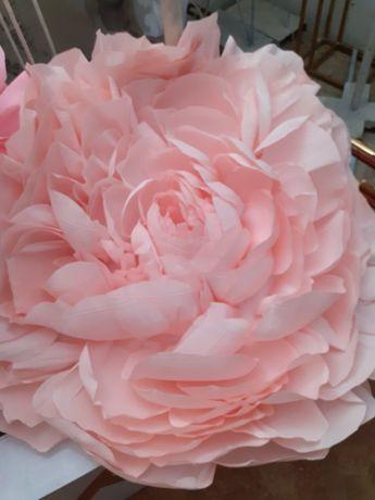 цветы бумажные для декора