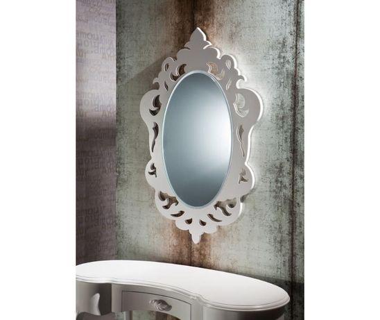 Oglinda decorativa alba
