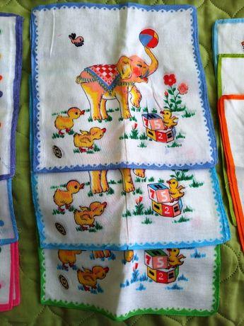 Детски кърпички 100% памук