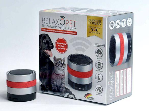 Система за релаксация на животните Relaxopet Успокояваща чрез акустика