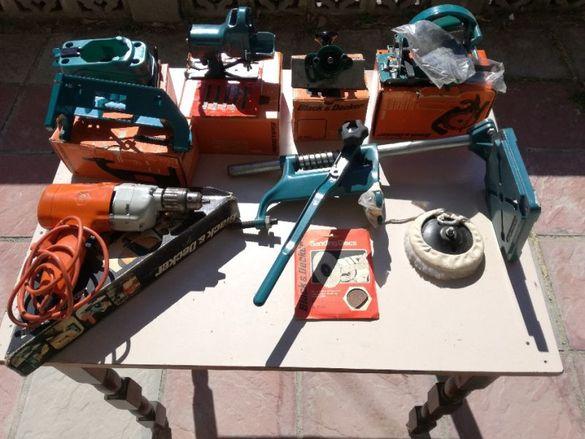 Комплект дрелка и приставки към нея Black & Decker