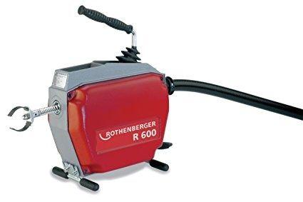 Отпушване на канали с професионална машина ROTENBERGER 600