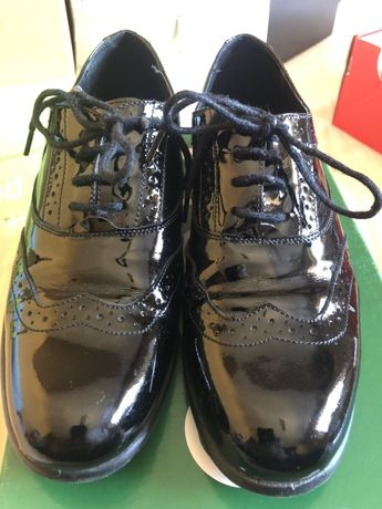 Pantofi piele lacuita Marelbo copii baieti marimea 34