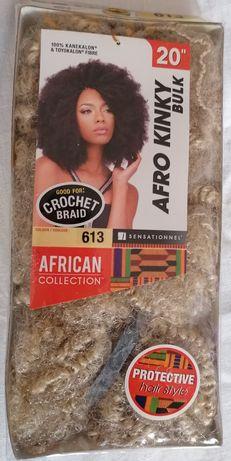 Afro kinky crochet braids