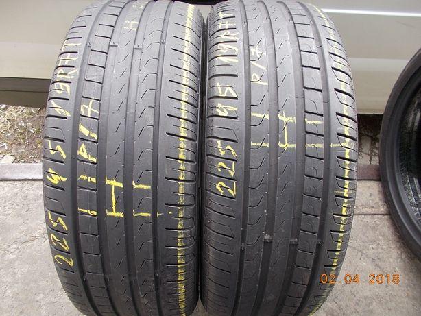 4 anvelope vara  225 45 19 pirelli runflat dot 2017 profil 5,5 mm
