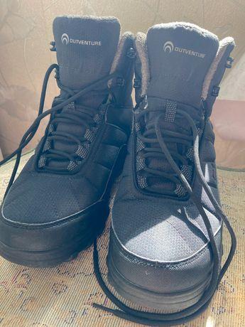 Зимние сапоги мужские , зимние ботинки из мембраны