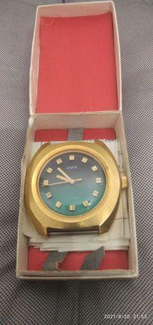 Часы позолоченные ЗАРЯ.  СССР.  1978