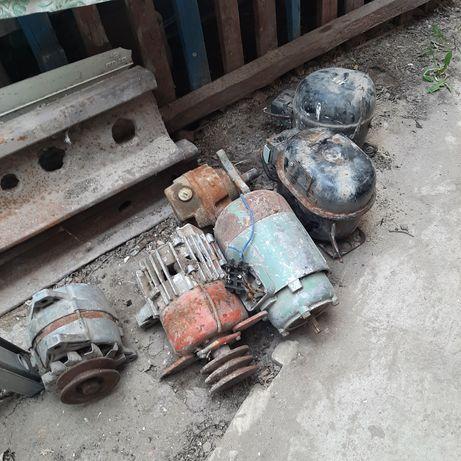 Продам элетродвигатель и генератор