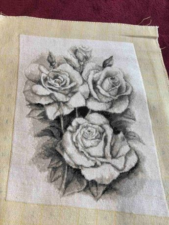 "Гоблен ""Бели рози"""