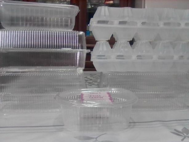 Пластиковые контейнеры (пищевые) по 45 тенге