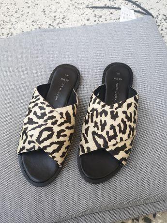 Дамски чехли естествена кожа