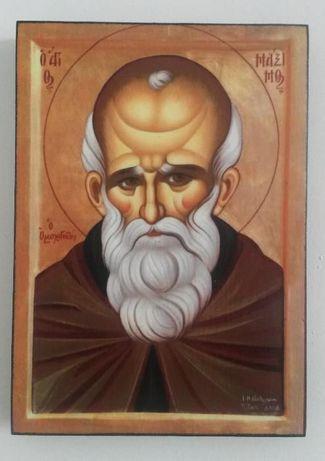 Икона на Свети Максим Изповедник icona Sveti Maksim
