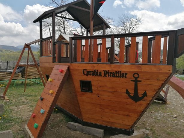 Vapor pirati -loc de joaca