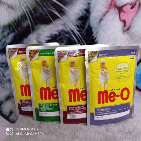 Жидкий корм паучи Мео для стерилизованных кошек