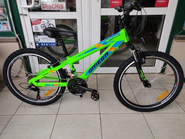 "Bicicleta OMEGA GERALD 24"" Shimano, Cadru Si Jante ALUMINIU, Model NOU"
