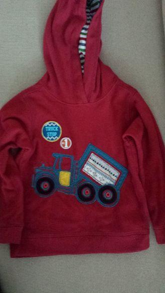 Детска блуза с качулка M&S 5-6год 116см.