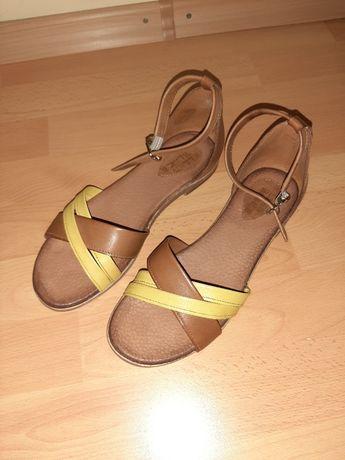 Sandale piele naturală