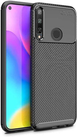 Силиконов гръб Business Carbon за Huawei P40 Lite E