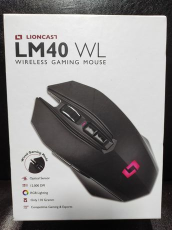 Lioncast LM40 WL Wireless Gaming Mouse - Original - Nou Sigilat