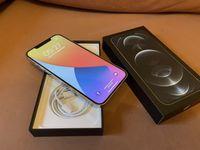 Iphone 12 pro max silver 128 gb