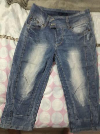 Pantaloni de blugi treisfert