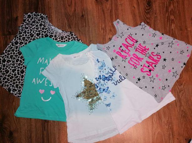 Set 4 tricouri H&M, 6-8 ani